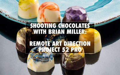 Shooting Designer Chocolates